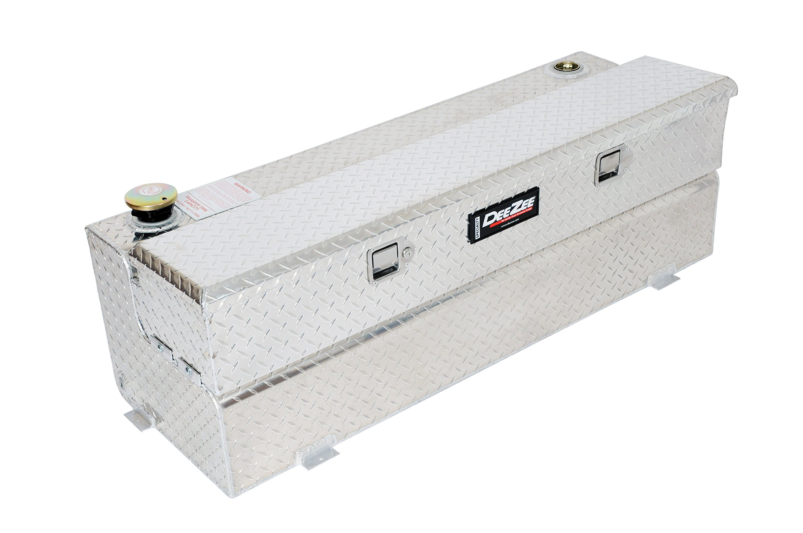Dee Zee DZ92740B (43 gallon) Black Aluminum Combo Transfer Tank & Tool Box