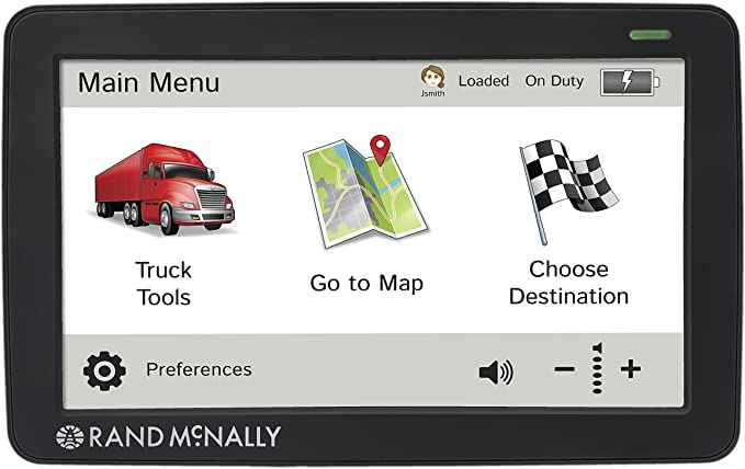 ORIGINAL RAND MCNALLY TND 510 Intelliroute for TRUCK or CAR