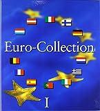 Münzenalbum Euro-Collection Band 1: Münzenalbum mit Microschaum zum Eindrücken der Münzen der 12 EURO-Ursprungsländer Belgien, Deutschland, ... Niederlande, Österreich, Portugal, Spanien