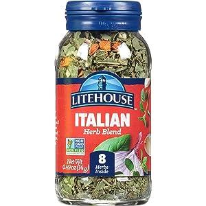 Litehouse Freeze Dried Italian Herb Blend, 0.49 Ounce