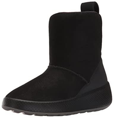 Amazon.com | ECCO Women's Women's Ukiuk Short Snow Boot | Snow Boots