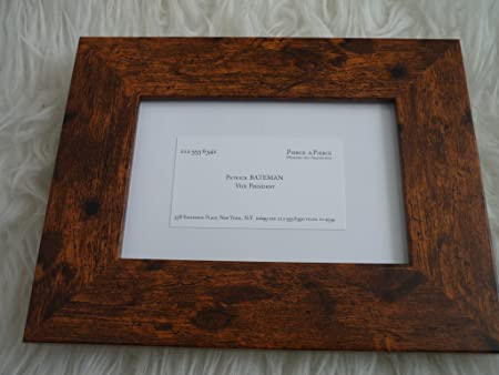 American psycho patrick bateman business card framed replica amazon american psycho patrick bateman business card framed replica reheart Gallery