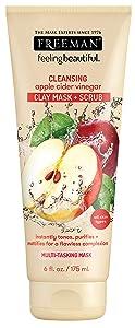 Freeman Facial Apple Cider Vinegar Clay Mask + Scrub 6 Ounce (177ml)