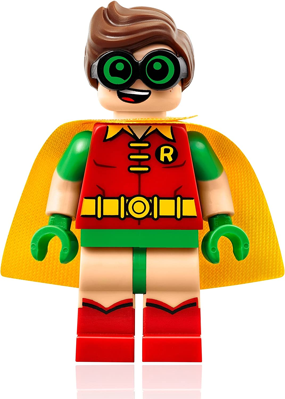Amazon Com The Lego Batman Movie Minifigure Robin W Goggles Toys Games