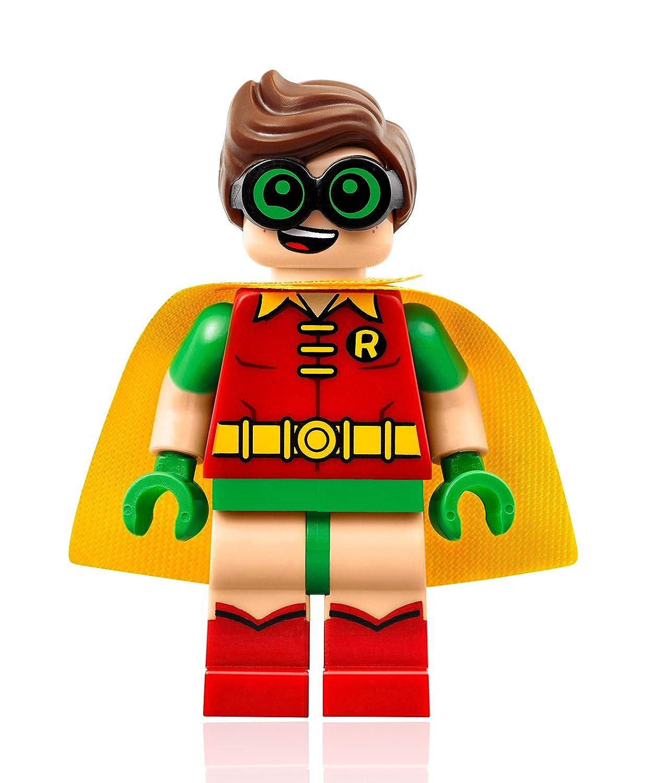 amazon com the lego batman movie minifigure robin w goggles
