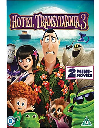 Hotel Transylvania 3 Dvd 2018 Amazon Co Uk Adam Sandler Andy
