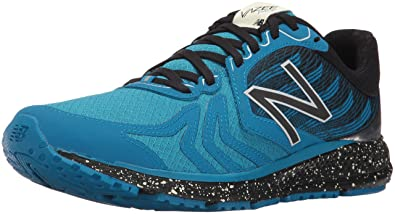 New Balance Mens Vazee Pace V2 Protect Pack Running Shoes, Blue/Silver, 8