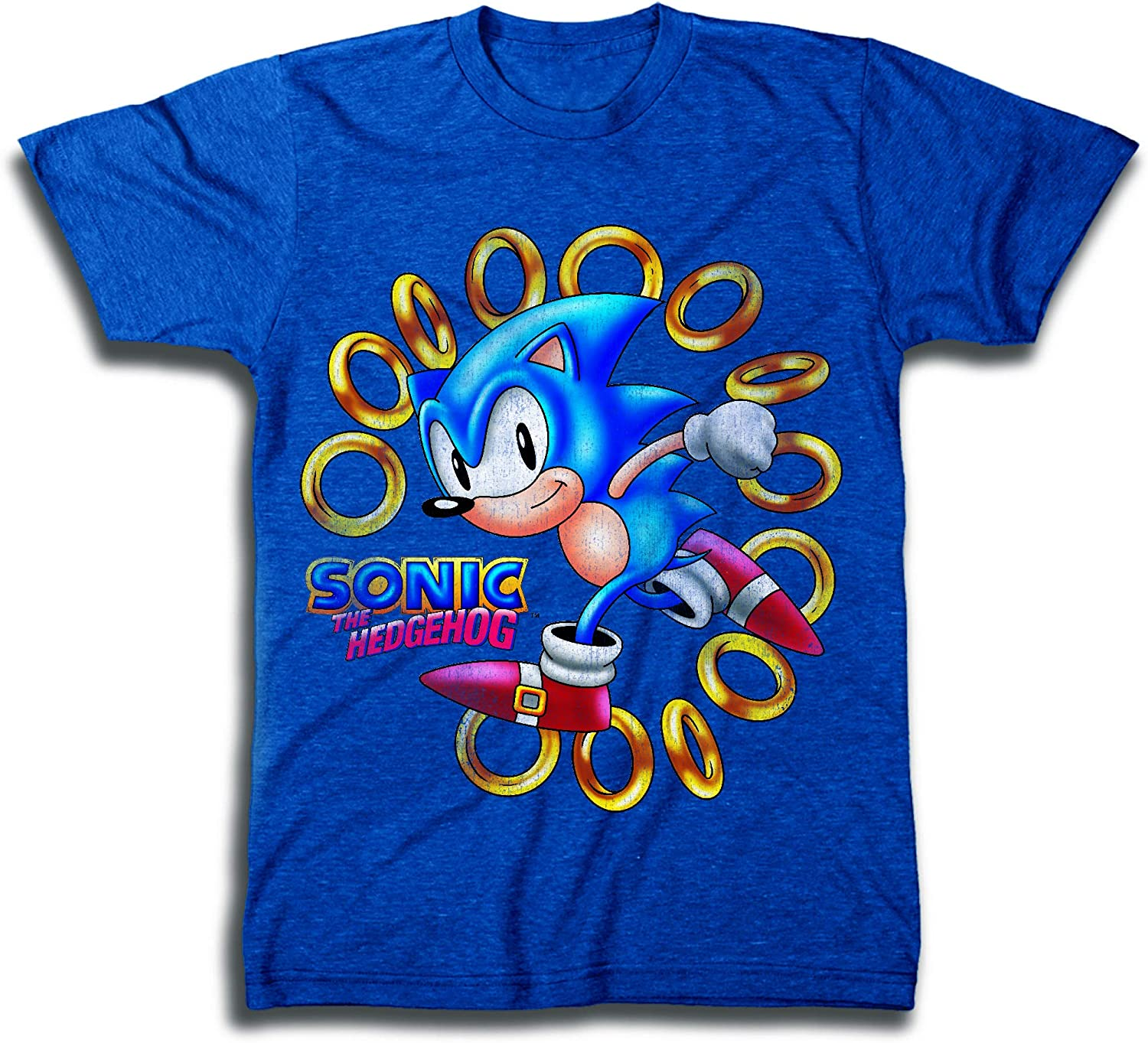 Amazon Com Sega Official Sonic The Hedgehog Shirt The Fastest Thing Alive The Blur Blur Official T Shirt Clothing