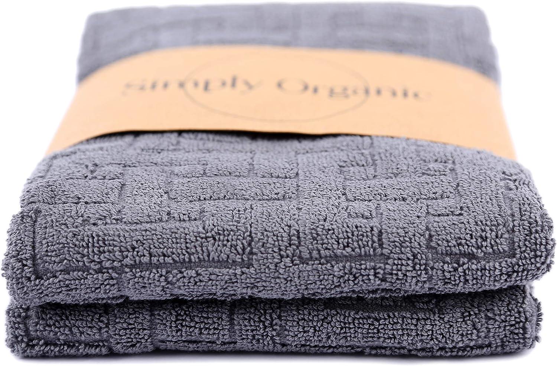 Simply Organic Serviette de Toilette 100/% Coton Biologique