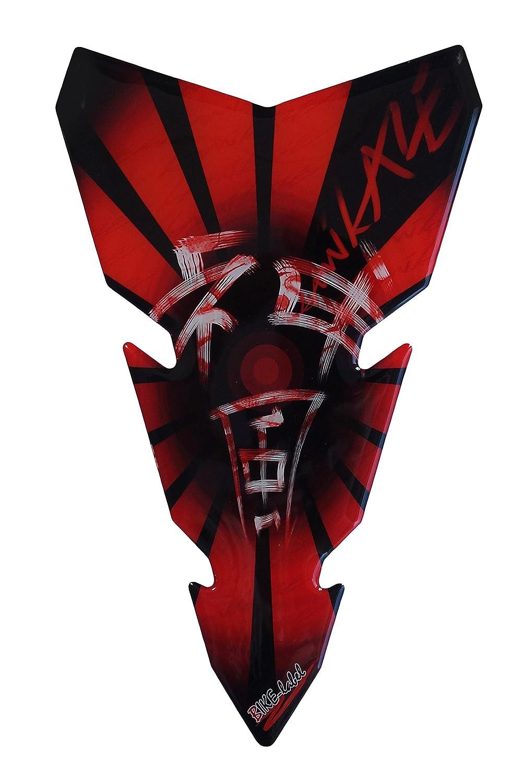 3D Protezione per serbatoio moto colore: Rosso Kamikaze 501760-VA