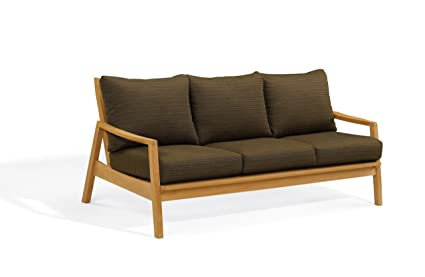 Amazon.com: Oxford Garden Siena Loveseat, Sofá, Natural ...