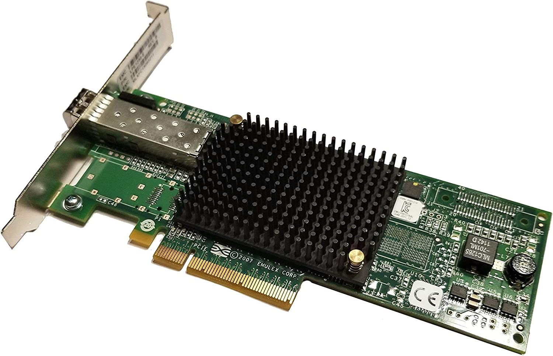 Renewed Emulex LightPulse LPe1250 8GB Sinlge Port PCI Express 2.0 LPE1250E LPE1250-E Electronics Computers Accessories