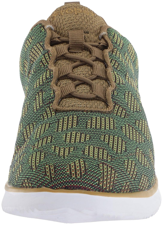 Propét Women's B073DMTPF2 TravelFit Walking Shoe B073DMTPF2 Women's 11 4E US|Green c20239