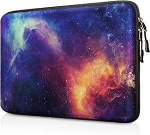 "FINPAC 13-inch Hard Shell Laptop Sleeve Case for 13.3"" MacBook Pro/Air, Surface Laptop 3/2, Dell Inspiron 13/XPS 13, Shockproof & Water-Resistant Notebook Carrying Cover Protective Bag (Galaxy)"
