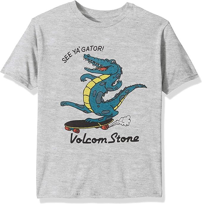 Volcom Little Boys See Ya Gator Basic Fit Short Sleeve Tee
