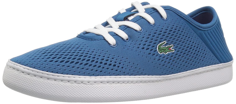 Lacoste Women's L.ydro Lace Sneakers B072VC2DV2 8.5 B(M) US|Dkblu/Wht Textile