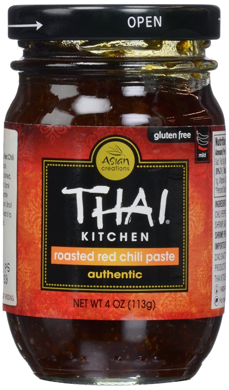 Thai Kitchen, Chili Paste, Roasted Red, 4 oz