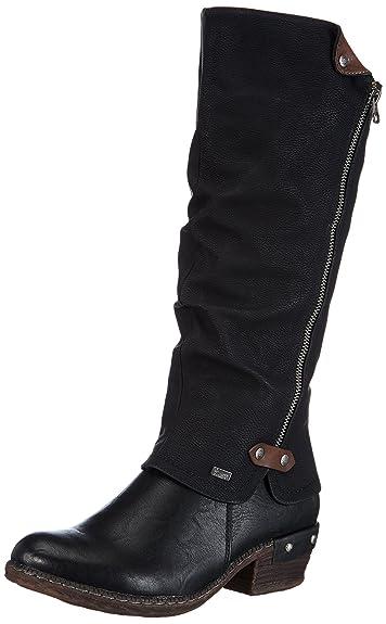 303e311294be Amazon.com | Rieker Bernadette 55 Winter Boots Womens | Knee-High
