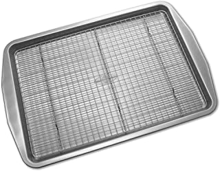 product image for USA Pan American Bakeware Classics Half Sheet Baking Pan and Cooling Rack, Aluminized Steel