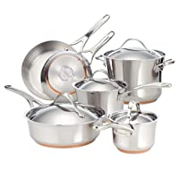 3. Anolon Nouvelle Copper Cookware Set