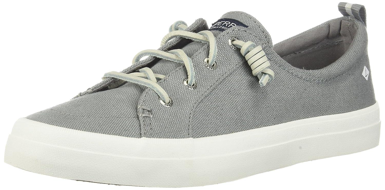 Sperry Top-Sider Women's Crest Vibe Sneaker B01G2HMHOG 9 M US|Grey