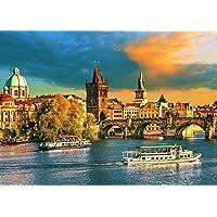 Quebra-cabeça Praga 1000 peças GROW - exclusivo Amazon