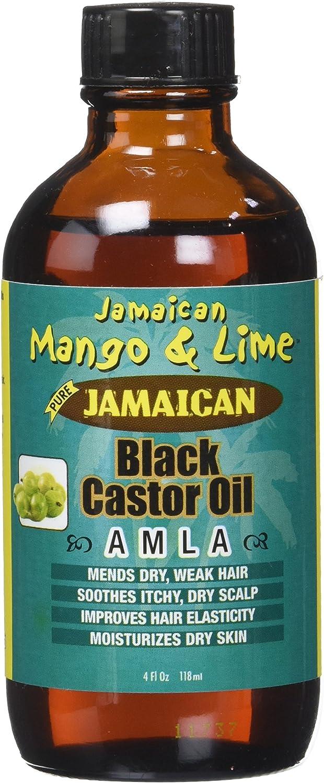 Jamaican Mango & Lima Aceite de Ricino/Amla 100% natural 118 ml – juego de 4: Amazon.es: Belleza