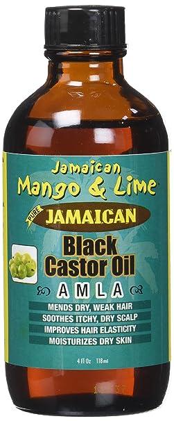 Jamaican Mango & Lima Aceite de Ricino/Amla 100% natural 118 ml - juego de 4: Amazon.es: Belleza