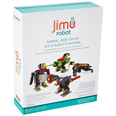UBTECH JIMU Robot Animal Add On Kit - Digital Servo & Character Parts For All JIMU Robot Kits Building Kit (2016): Toys & Games