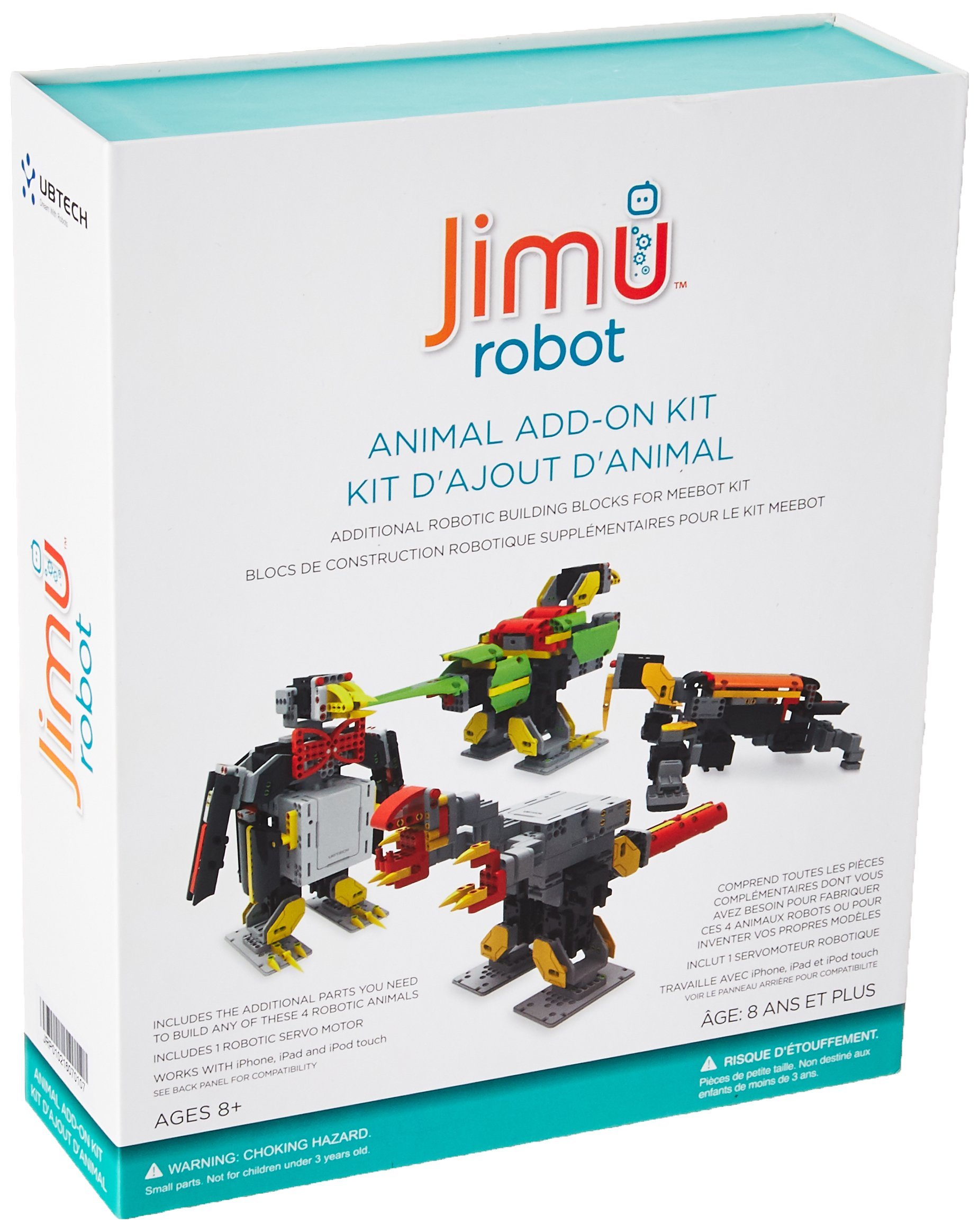 UBTECH JIMU Robot Animal Add On Kit - Digital Servo & Character Parts for All JIMU Robot Kits Building Kit by UBTECH (Image #1)