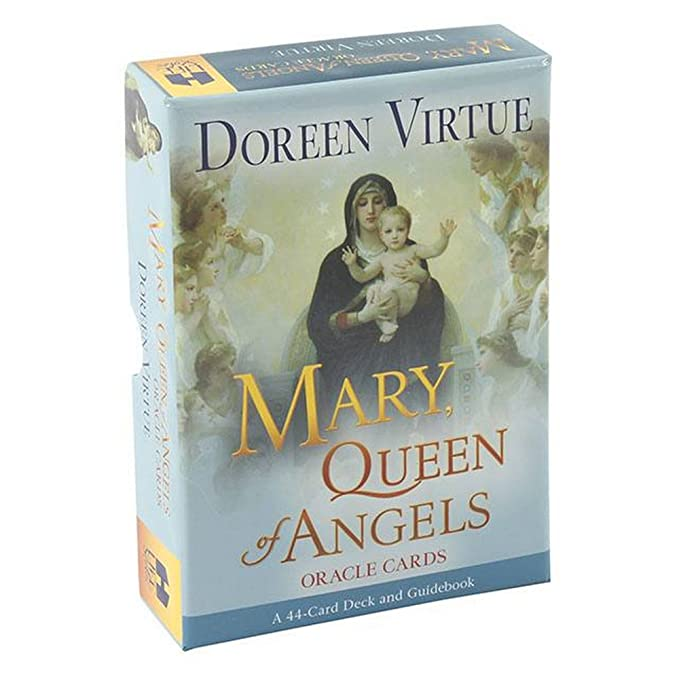 Doreen Virtue - Cartas de oráculo Mary, Queen Of Angels ...
