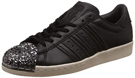 online store a9fbd 78750 Adidas Superstar 80 s 3D Metal Toe Mujer Zapatillas Negro