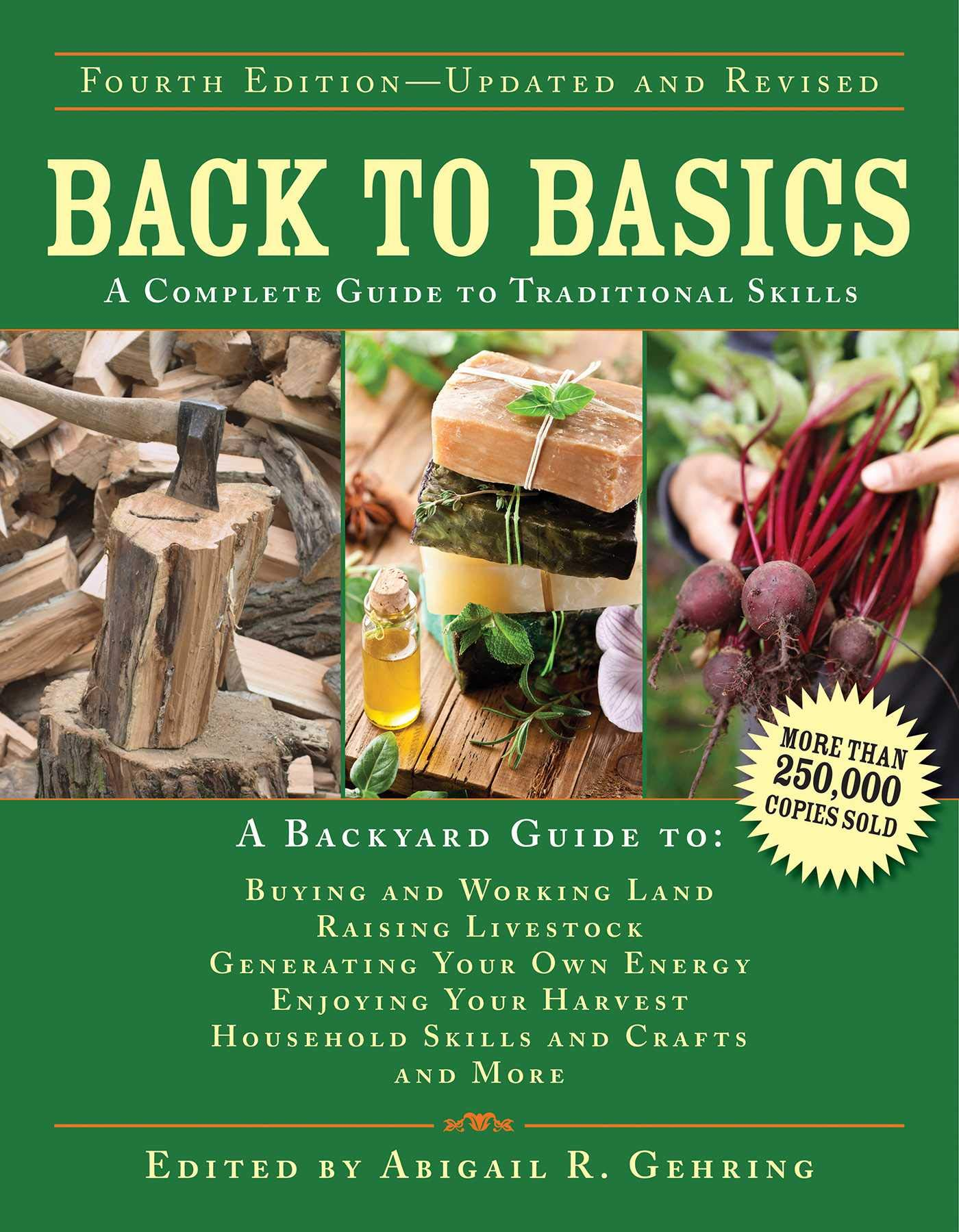 Back to Basics: A Complete Guide to Traditional Skills (Back to Basics Guides) by Skyhorse