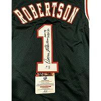 "Oscar Robertson Autographed Jersey -""Big O"" HOF 79 50 - Autographed NBA Jerseys photo"