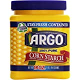Argo 100% Pure Corn Starch, 16 Oz (2 Pack (16 Ounce))