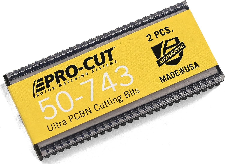 Pro-Cut Brake Lathe Cutting Tips Bits Inserts 50-742