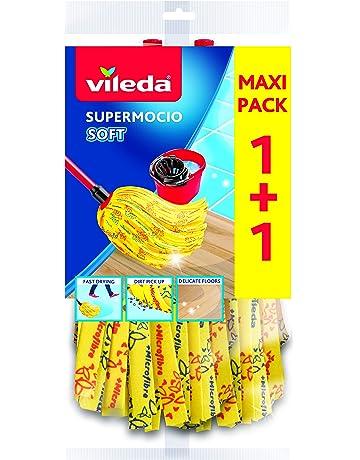 Exceptionnel Vileda SuperMocio Soft Ersatzmop   Extra Starke Saugkraft Mit 30%  Mikrofaseranteil