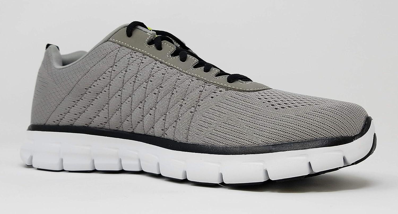 Skechers SynergyPower Switch Herren Sneakers Light Grey/Black/Cloud Break