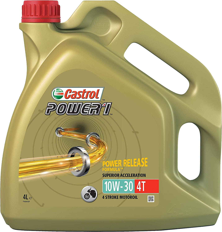 Castrol Power 1 Engine Oil 10w 30 4t 4l Auto