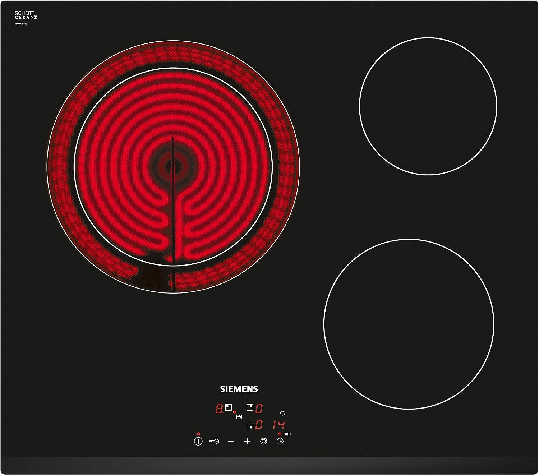 Siemens ET631BK17E iQ300 - Placa de cocina vitrocerámica, ancho 60 ...