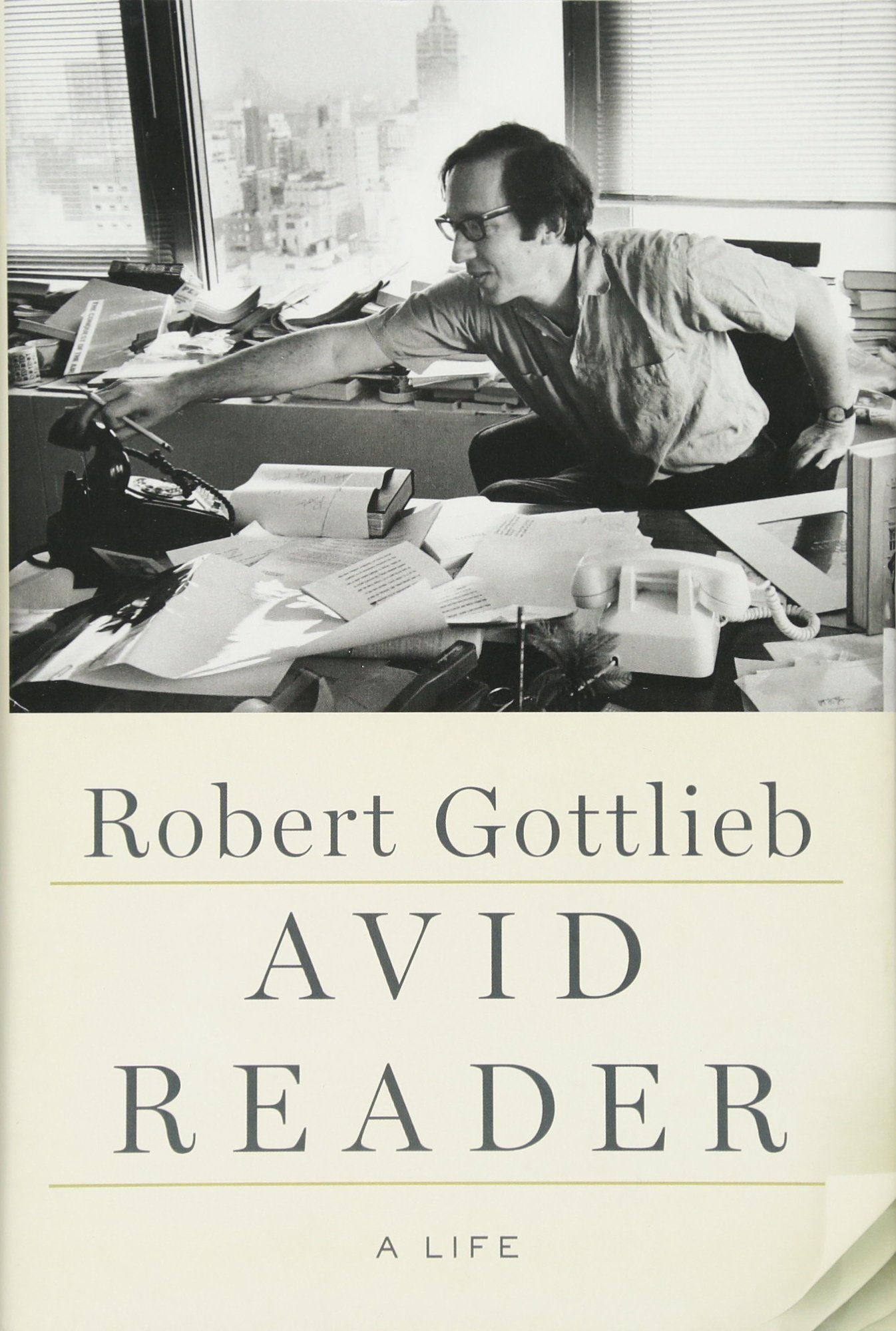Avid Reader Life Robert Gottlieb product image