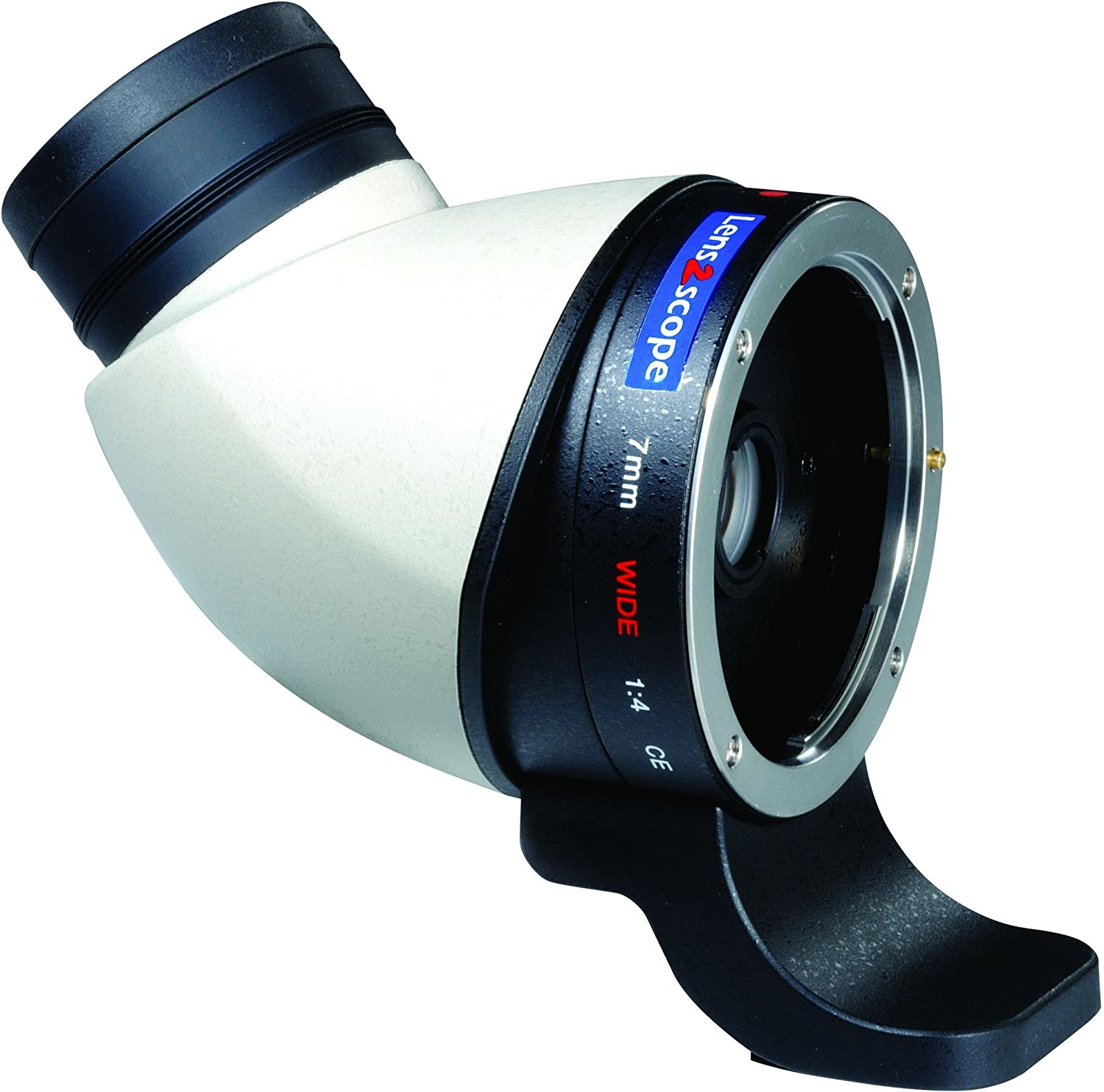 Fernglas Kenko Lens2scope Canon EOS Angle Weiss