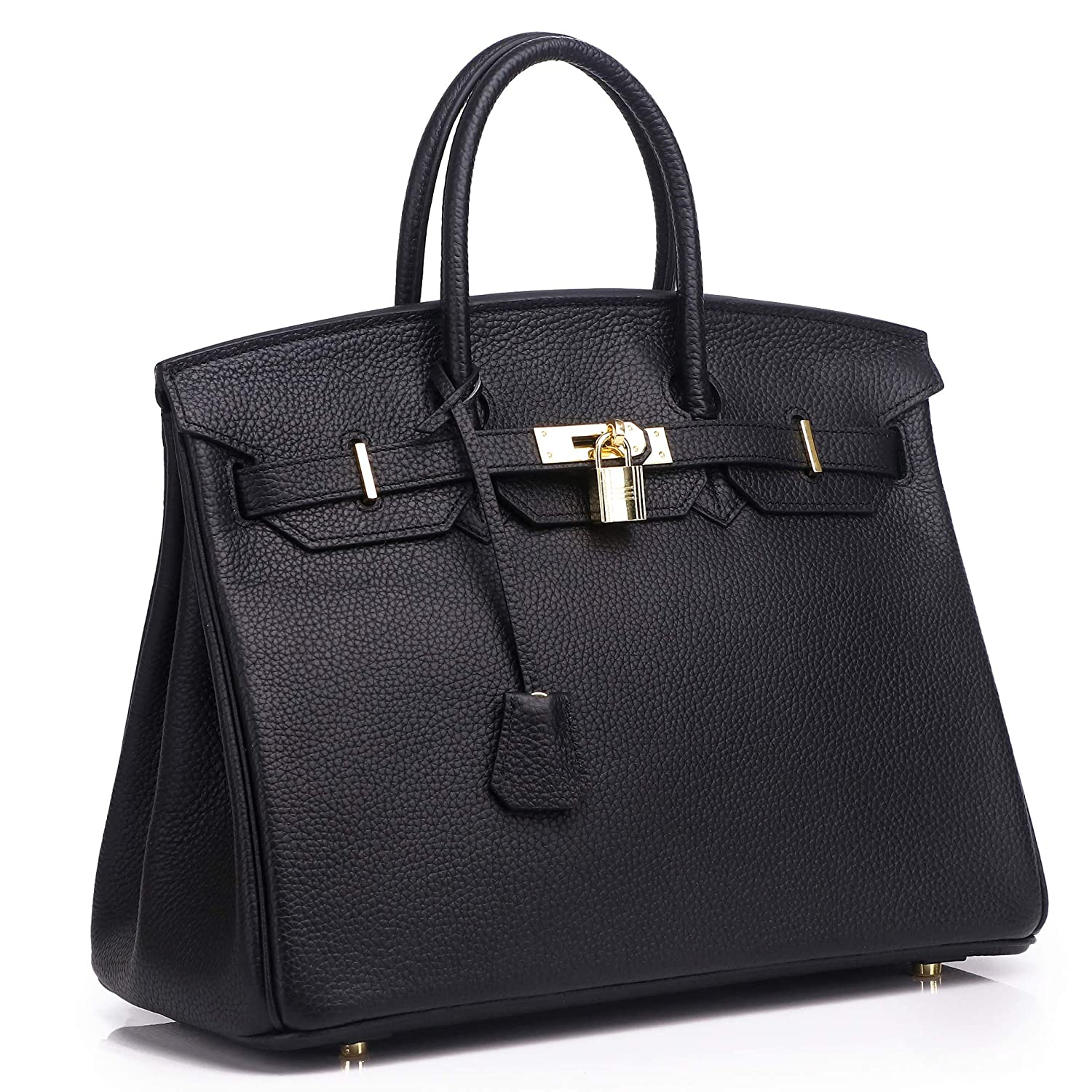 6025320c895e Amazon.com  Kueh Women s Genuine Leather Tote Bag Top Handle Handbags  Shoes