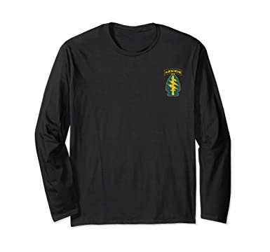 Unisex Army Special Forces Green Berets Military Long Sleeve Shirt Small Black