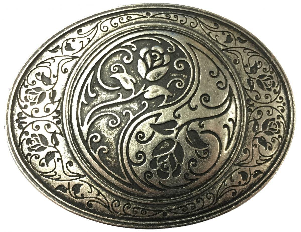 Gürtelschließe Yin Yang 4,0 cm