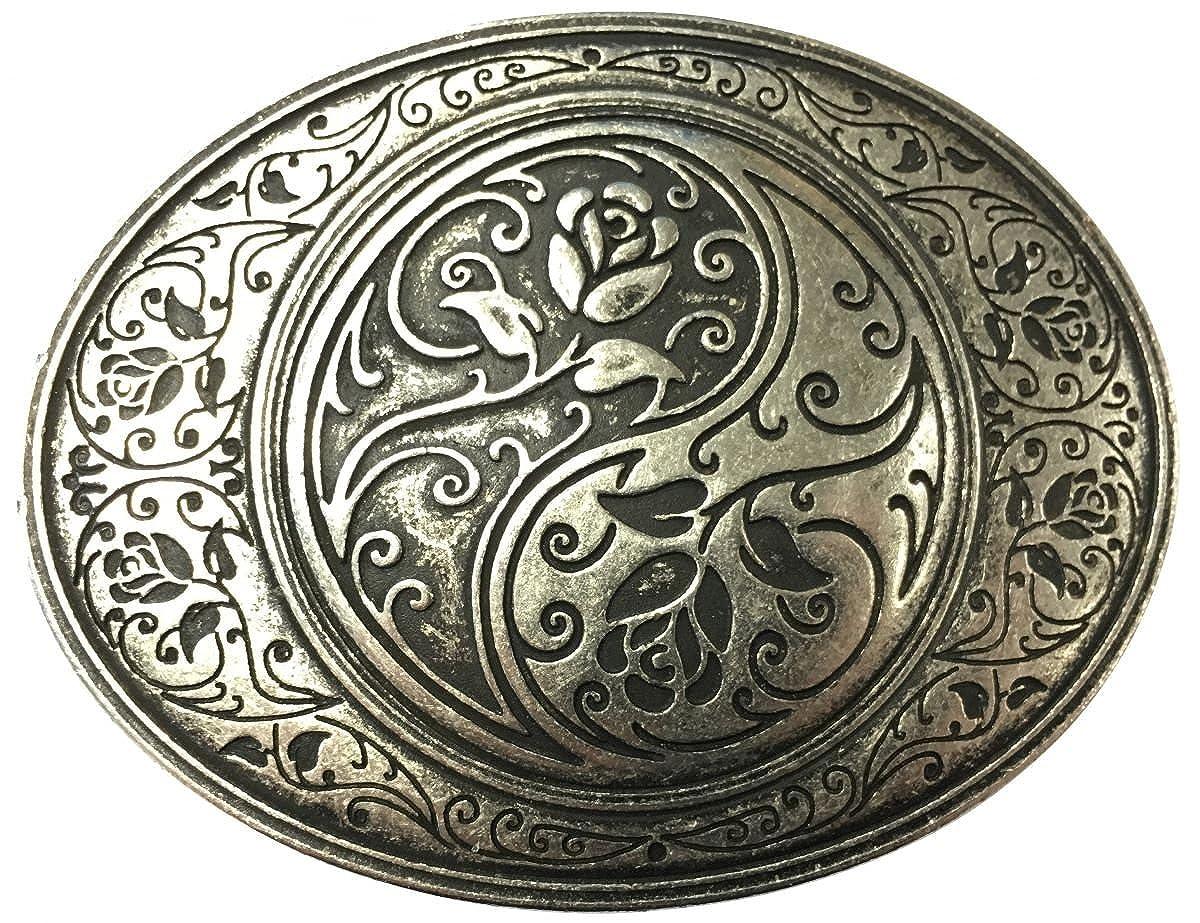 Brazil Lederwaren G/ürtelschlie/ße Celtic Buckle 4,0 cm