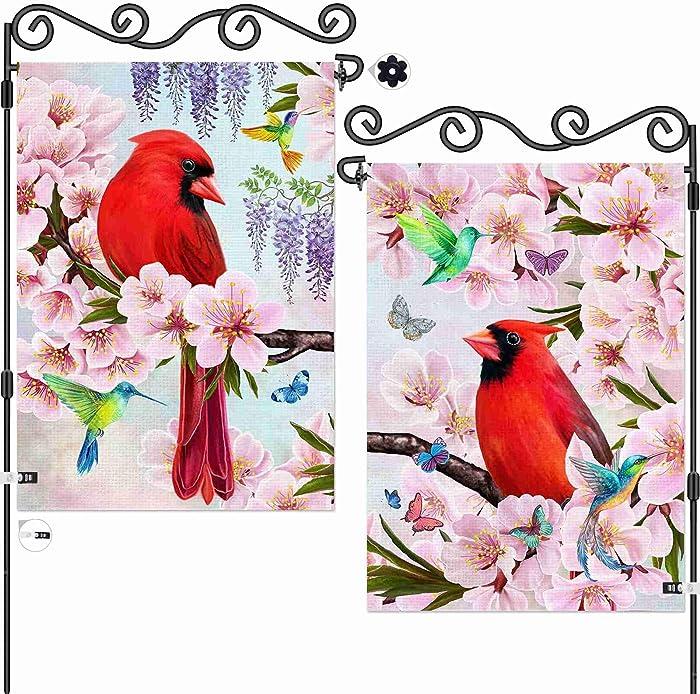 Top 9 Cardinal Summer Garden Flag