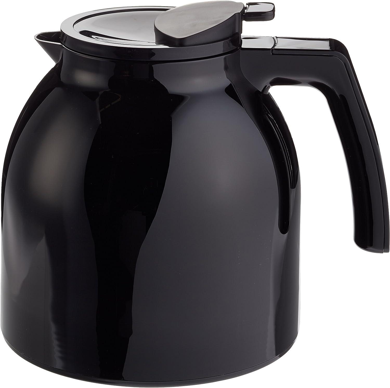 Noir Pour Cafeti/ères /à Filtres LOOK III Therm Melitta Verseuse Isotherme Capacit/é 1 Litre