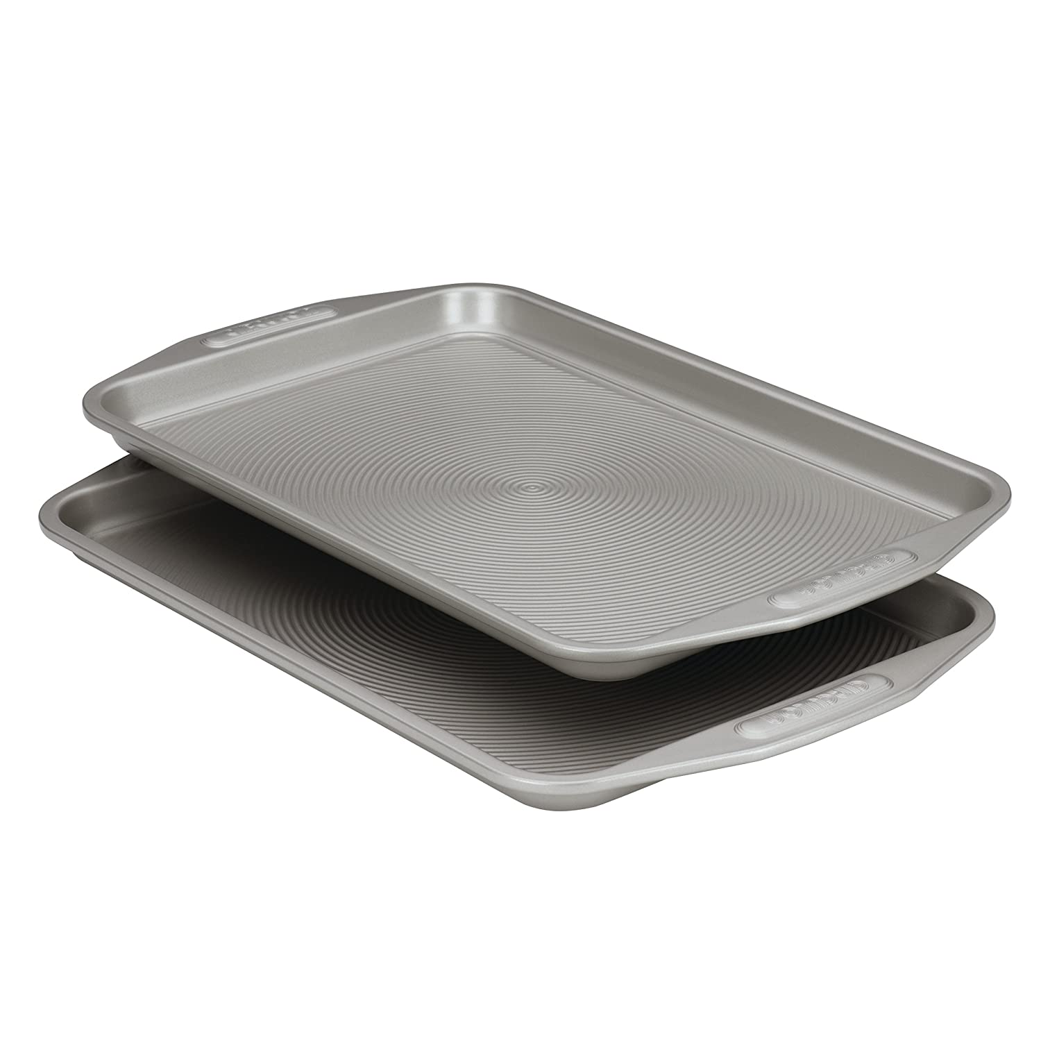 Circulon Nonstick Bakeware 10-Inch-by-15-Inch Cookie Baking Pan, 2-Piece Set Meyer 57893