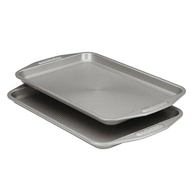 Circulon Nonstick Bakeware 2-Piece Baking Sheet, Bakeware Set, Gray